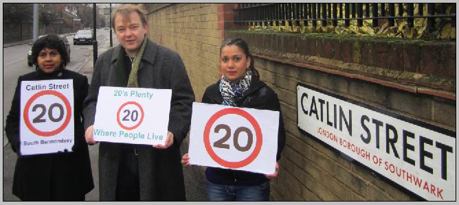 Catlin Street residents